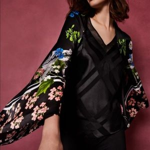 Ted Baker Tayllor Florence Silk Cape Scarf